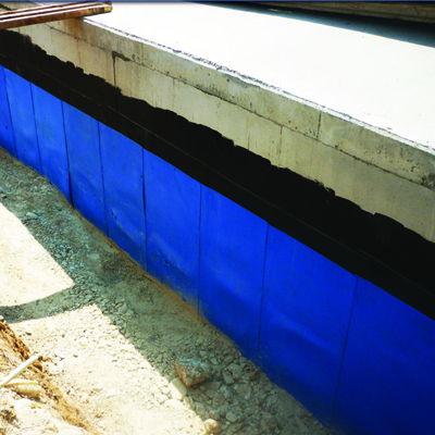 Ply guard waterproofing membrane